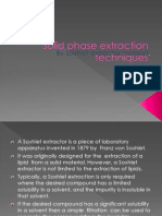 4solid Phase Extraction Techniques Ppt