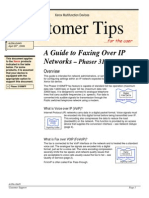 3100MFP Guide Faxing Over IP Networks