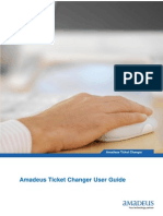 Amadeus Ticket Changer User Guide (Command)