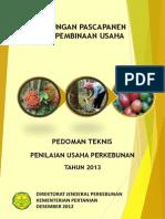 Pedoman Teknis Penilaian Usaha Perkebunan