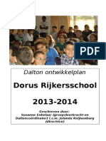 Dalton Ontwikkel Plan 2013 - 2014