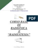 Corso Base Radiestesia Radionica