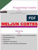 MELJUN CORTES C Fundamental Basics COMPLETE