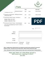 NA Registration Form