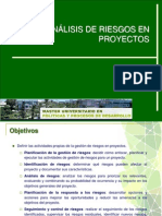 Análisis Riesgos+2012