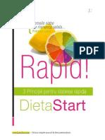DietaStart 3 Principii Pentru Slabirea Rapida
