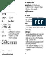 Er0275 Product Information