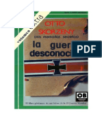 Skorzeny, Otto - La Guerra Desconocida