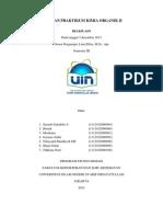 Laporan Praktikum Kimia Organik II