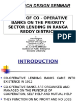 Impact of Co-opertaive Banks on the Priority Sector - Copy