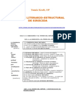 Kraft, Tomas - Analisis Literario Estructural de Siracida