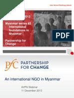 Myanmar Webinar 2 International Foundations in Myanmar Final