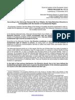 Data Retention Challenge Press Release