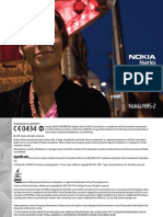 Nokia N95-2 8GB User Manual