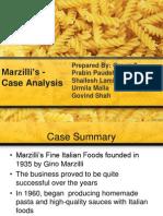 Marzilli's Presentation