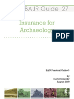 Insurance for Archaeologists