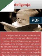 Inteligența