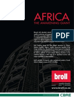 Broll AfricaAfrica – The Awakening Giant