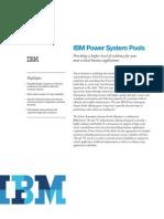 IBM Power System Pools