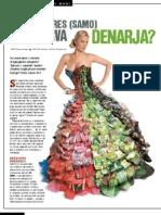 Je zelena res (samo) barva denarja? / Playboy forum