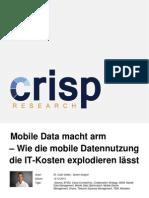 Mobile Data macht arm - Wie die mobile Datennutzung die IT-Kosten explodieren lässt
