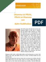 Ajahn Buddhadasa - Dhamma Ist Pflicht