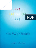 Longchenpa Precious Treasury of the Way of Abiding [ Tibetan Buddhism, Meditation, Dzogchen ]