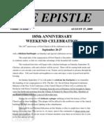 EPISTLE 2009 08-1