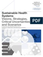 WEF Sustainable Health Systems Report 2013
