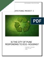 HRISHIKESH Revised Eco Housing Main Body