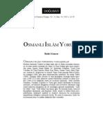 Bedri Gencer - Osmanlı İslam Yorumu