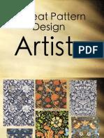 Repeat Pattern Design Artists