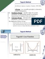 Class 20 - Taguchi, TQM, Kazien, Six Sigma and ISO 9000 (1 of 2)