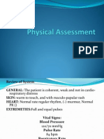 Physical Assessment and Gordons