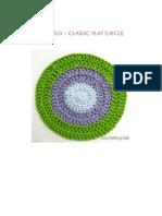 Tutorial círculo. Flat circle .Español. English