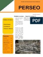 Perseo n° 2, 2013