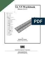 catia V5 tutorial work book