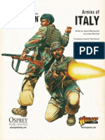Bolt Action - Basic Italian Army List