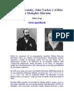 Fogg Phileas - Hpb Y El Rito de Memphis Mizraim