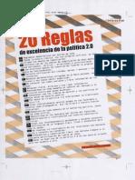 Fernando Herrero-Nieto. 20 reglas de Excelencia de la Política 2.0