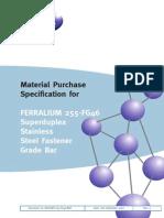 Langley Ferralium 255 UNS 32550 Specification