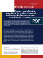 Clinical Efficacy of a Novel Topical Formulation for Vitiligo (2)