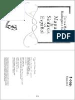 RODRÍGUEZ RAMALLE - Manual de sintaxis del español (1.1.4 y 1.1.4.1)