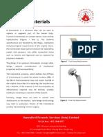 Analysis of Failed Biomaterials
