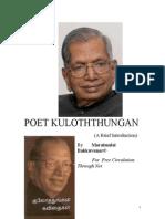 Poet Kuloththungan
