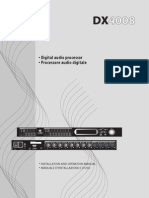 Manual DX 4008