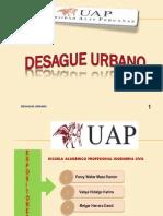 GRUPO 10 - Desague Urbano