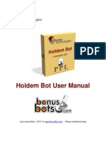 Hold Em Bot User Manual