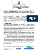 Edital 021 2013 Curso Tec Manaus Internet