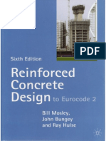 MOSLEY BUNGEY HULSE Reinforced Concrete Design to Eurocode 2 1